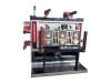<strong>Máquina de corte e vinco</strong> rotativa de três estações
