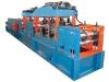 Máquina para fabricar perfil de calha e trilho