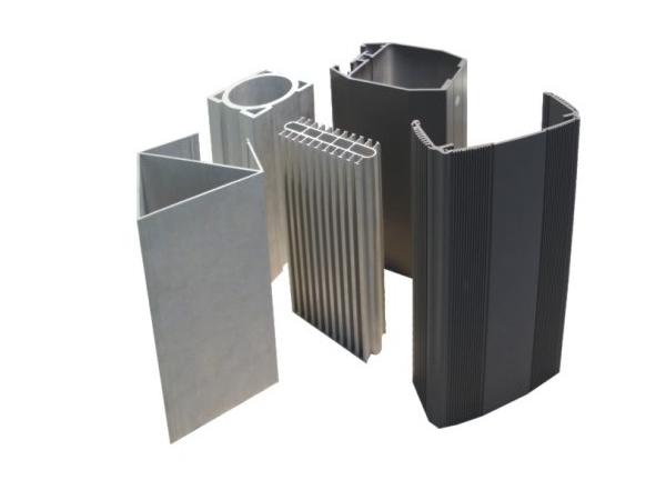 Perfil extrudado de alum nio industrial fabricante etw - Tipos de perfiles de aluminio ...